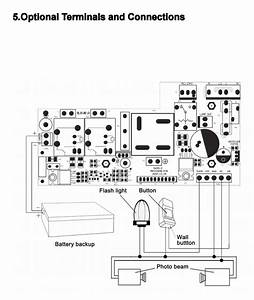 3 Button Garage Door Opener Circuit Diagram