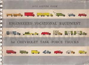 1958 Chevrolet Truck Wiring Diagram Manual Reprint