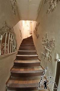 Décoration D Escalier Intérieur : descente d escalier intrieur interesting decorer un escalier interieur chambre decoration ~ Nature-et-papiers.com Idées de Décoration