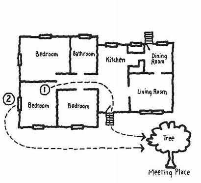 Fire Escape Plan Template Plans Draw Create