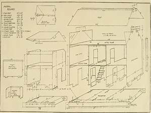 Doll House Plan Free Download Country Doll House Free