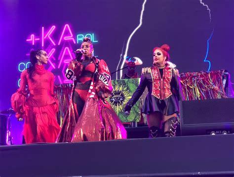 Karol Conka marca posição em show no Rock in Rio com ...