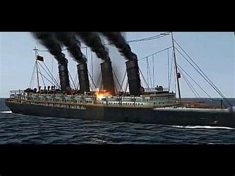 Rms Lusitania Model Sinking by Rms Lusitania Doovi