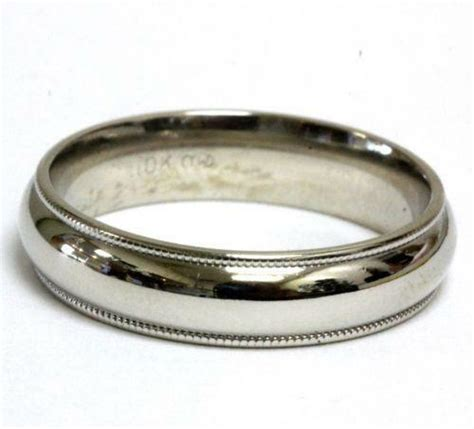vintage mens gold wedding ring ebay