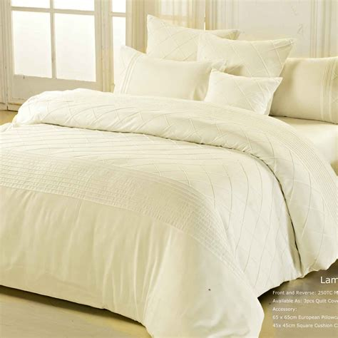 ivory duvet cover king lamere ivory king duvet quilt cover set 3pcs bed