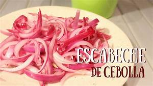Escabeche De Cebolla  Raw Vegan