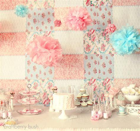 shabby chic tea decorations a shabby chic princess tea party