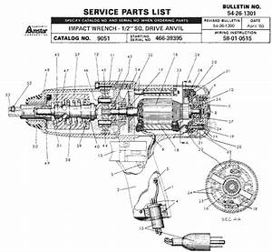 Milwaukee 9051 Parts List And Diagram