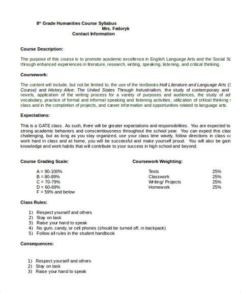 syllabus template syllabus template 7 free word documents free premium templates