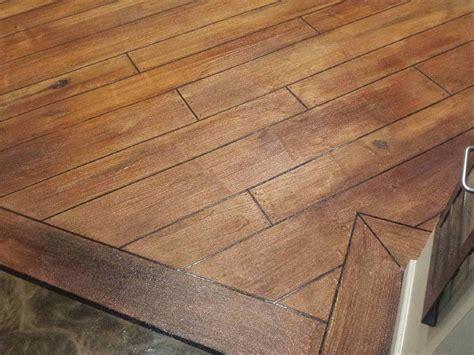 Concrete Wood Texture & Staining   Detroit MI   gallery
