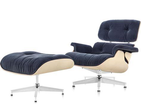 Ottoman Lounge Chair eames 174 lounge chair ottoman in mohair supreme