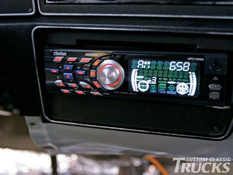 chevy  stereo install hot rod network