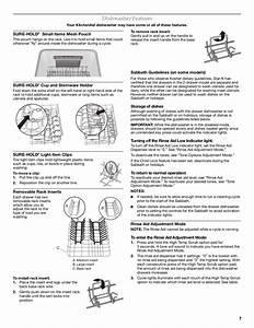 Pdf Manual For Kitchenaid Dishwasher Kudd03dtss