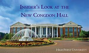 Insider's Look at the New Congdon Hall   High Point ...