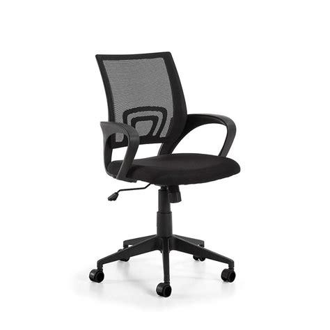 chaise de chaise de bureau design réglable à roulettes rail par
