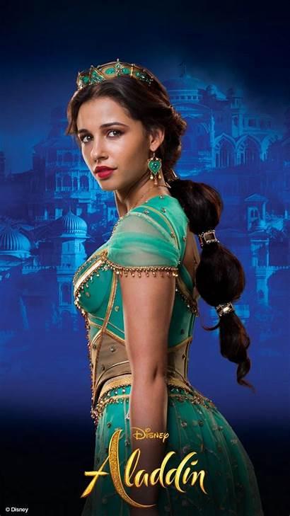 Aladdin Naomi Scott Jasmine Princess Disney Film