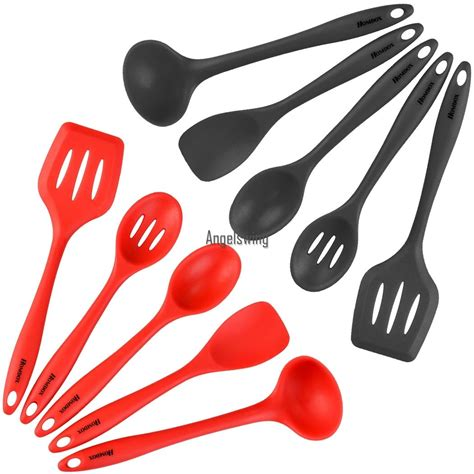 ustensile cuisine silicone homdox spatule ensemble ustensiles de cuisine ustensile de