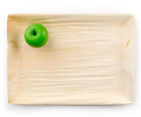 Leafware Large Disposable Palm Leaf Platter 10/PK