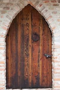Old Wooden Door Free Stock Photo