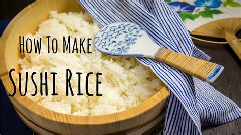 How To Make Sushi Rice (recipe) 酢飯の作り方 (レシピ) Youtube