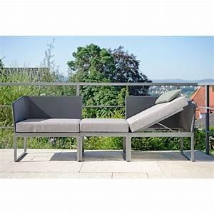 Balkon Liege Für Zwei : 3 in 1 lounge liege und sofa donna von stern m bel modern und wasserfest f r balkon ~ Sanjose-hotels-ca.com Haus und Dekorationen
