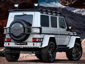 Mercedes Brabus 4x4 : brabus turns mercedes benz g500 4x4 into adventure seeking behemoth automobile magazine ~ Medecine-chirurgie-esthetiques.com Avis de Voitures