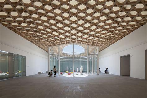 gallery of oita prefectural museum shigeru ban