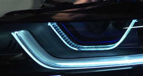 i8 laser headlights at with