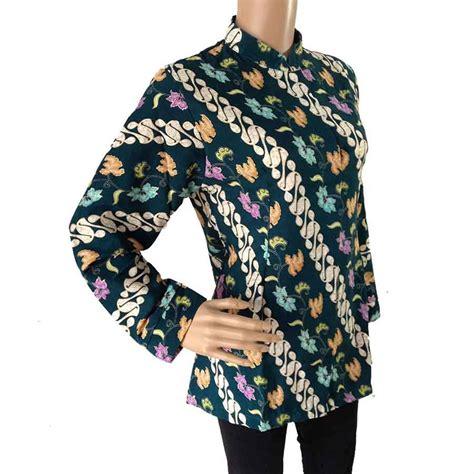 Batik semi sutra, pakai furing, ketebalan sedang, halus, adem. Jual Blus Batik Seragam Semi Sutra Motif Parang Exclusive ...
