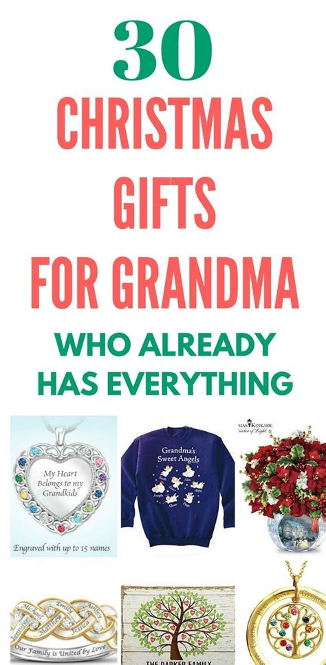 christmas gifts for grandma 2017 best template idea