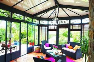 Véranda Fer Forgé : veranda rideau eleganz effet fer forg 4 les cl s de ~ Premium-room.com Idées de Décoration