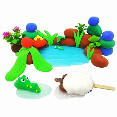 Clay Soft Modeling Dry Air Children Plasticine