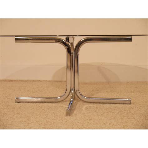 table basse ronde vintage annee 70 la maison retro