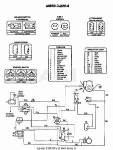 Troy Bilt 13085 13hp Hydrostatic Lawn Tractor  S  N 130850100101  Parts Diagram For Wiring Diagram