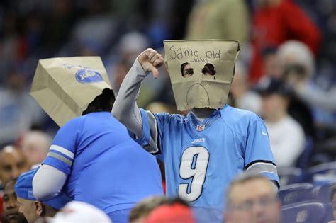 detroit lions fans   sacrifice  season