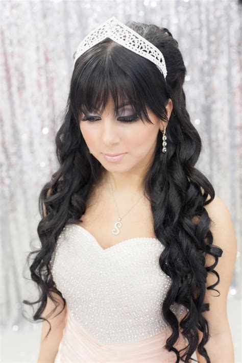 beautiful wedding hair  bridal veils
