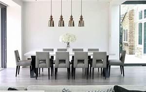 meubles salle a manger 65 idees avec l39eclairage With salle À manger contemporaine avec meuble pour salle a manger design