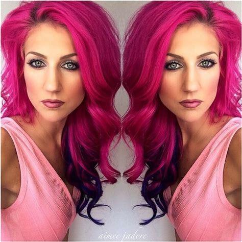 pinke haare färben haare pink f 228 rben nettetipps de
