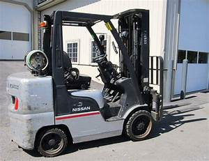 Nissan Forklift L01 And L02 Series Manuals