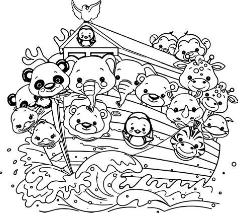 noahs ark cartoon coloring pages coloring cartoon