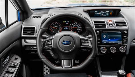 subaru wrx interior 2018 2018 subaru wrx sti hatchback go4carz com