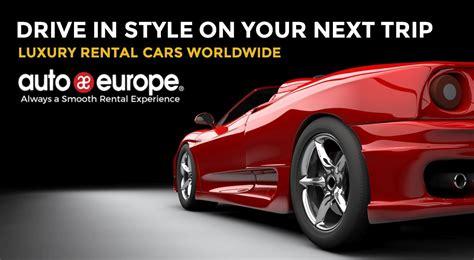 Luxury Car Rental Europe  Sports Car Rental  Auto Europe