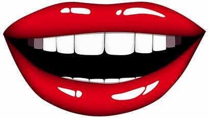 Mouth Smiling Clipart Lips Clipartpng