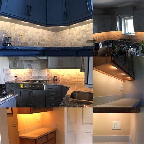 led cabinet kitchen lights cabinet lighting benefits and options 8973