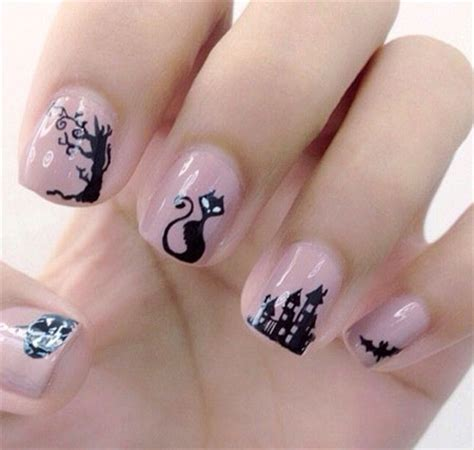cat nail designs amazing black cat nail designs ideas 2014 2015