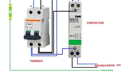 circuito de contactor con timer digital circuito on con temporizador y un pulsador esquema