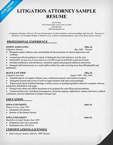 litigation attorney resume sample by the people for the With attorney resume samples