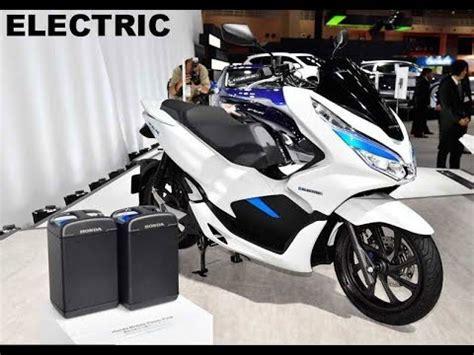 Honda Pcx Electric Modification by New Honda Pcx Electric 2018