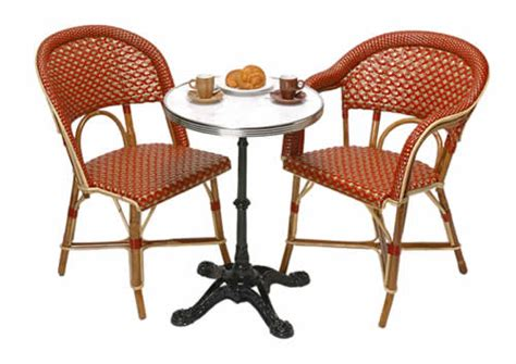 authentic cafe chairs bistro tables tk