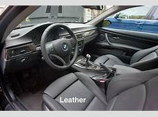 Leather vs Leatherette in a BMW